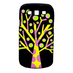 Simple colorful tree Samsung Galaxy S III Classic Hardshell Case (PC+Silicone)