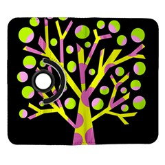 Simple colorful tree Samsung Galaxy Note II Flip 360 Case