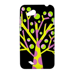 Simple colorful tree HTC Desire VC (T328D) Hardshell Case