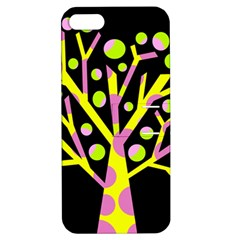 Simple colorful tree Apple iPhone 5 Hardshell Case with Stand