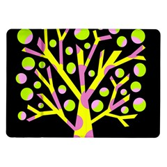 Simple colorful tree Samsung Galaxy Tab 10.1  P7500 Flip Case