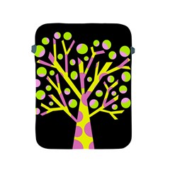 Simple colorful tree Apple iPad 2/3/4 Protective Soft Cases