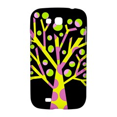Simple colorful tree Samsung Galaxy Grand GT-I9128 Hardshell Case