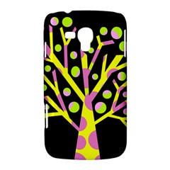 Simple colorful tree Samsung Galaxy Duos I8262 Hardshell Case