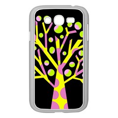 Simple colorful tree Samsung Galaxy Grand DUOS I9082 Case (White)