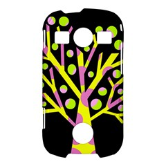Simple colorful tree Samsung Galaxy S7710 Xcover 2 Hardshell Case