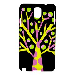 Simple colorful tree Samsung Galaxy Note 3 N9005 Hardshell Case