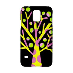 Simple colorful tree Samsung Galaxy S5 Hardshell Case