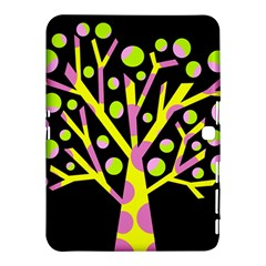 Simple colorful tree Samsung Galaxy Tab 4 (10.1 ) Hardshell Case