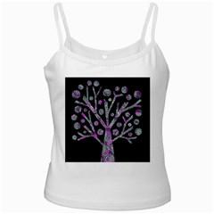 Purple magical tree Ladies Camisoles