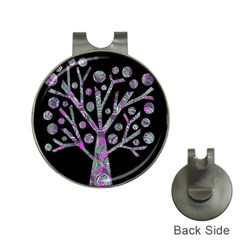 Purple magical tree Hat Clips with Golf Markers