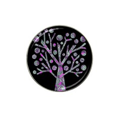 Purple magical tree Hat Clip Ball Marker (4 pack)