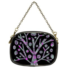 Purple magical tree Chain Purses (Two Sides)