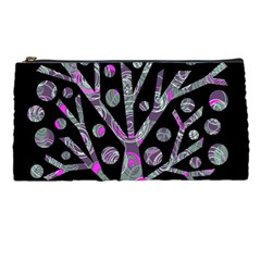 Purple magical tree Pencil Cases