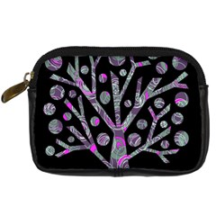 Purple magical tree Digital Camera Cases