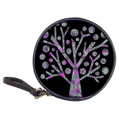 Purple magical tree Classic 20-CD Wallets