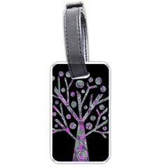 Purple magical tree Luggage Tags (Two Sides)