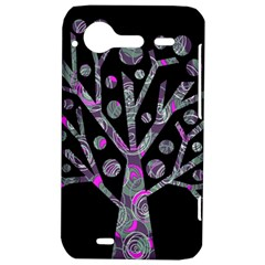 Purple magical tree HTC Incredible S Hardshell Case