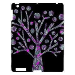 Purple magical tree Apple iPad 3/4 Hardshell Case
