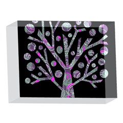 Purple magical tree 5 x 7  Acrylic Photo Blocks