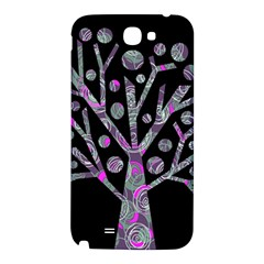 Purple magical tree Samsung Note 2 N7100 Hardshell Back Case
