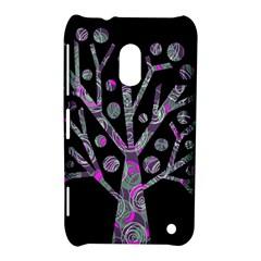 Purple magical tree Nokia Lumia 620
