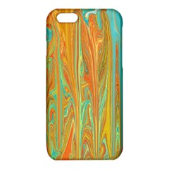 Beautiful Abstract in Orange, Aqua, Gold iPhone 6/6S TPU Case