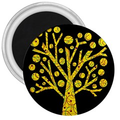 Yellow magical tree 3  Magnets