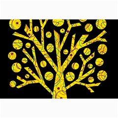 Yellow magical tree Collage Prints
