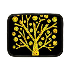 Yellow magical tree Netbook Case (Small)