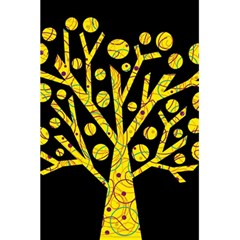 Yellow magical tree 5.5  x 8.5  Notebooks