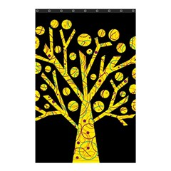 Yellow magical tree Shower Curtain 48  x 72  (Small)