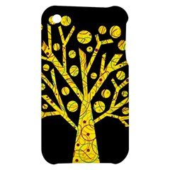 Yellow magical tree Apple iPhone 3G/3GS Hardshell Case