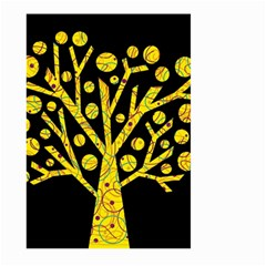Yellow magical tree Large Garden Flag (Two Sides)