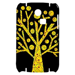 Yellow magical tree Samsung S3350 Hardshell Case