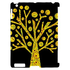 Yellow magical tree Apple iPad 2 Hardshell Case (Compatible with Smart Cover)