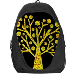 Yellow magical tree Backpack Bag