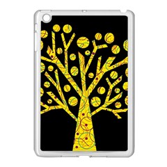 Yellow magical tree Apple iPad Mini Case (White)