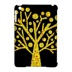 Yellow magical tree Apple iPad Mini Hardshell Case (Compatible with Smart Cover)