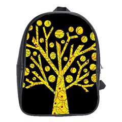 Yellow magical tree School Bags (XL)
