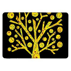 Yellow magical tree Samsung Galaxy Tab 8.9  P7300 Flip Case