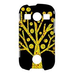 Yellow magical tree Samsung Galaxy S7710 Xcover 2 Hardshell Case