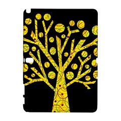Yellow magical tree Samsung Galaxy Note 10.1 (P600) Hardshell Case