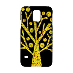 Yellow magical tree Samsung Galaxy S5 Hardshell Case