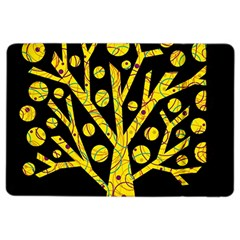Yellow magical tree iPad Air 2 Flip