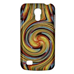 Gold Blue and Red Swirl Pattern Galaxy S4 Mini