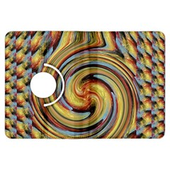 Gold Blue And Red Swirl Pattern Kindle Fire Hdx Flip 360 Case
