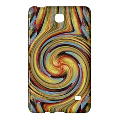 Gold Blue and Red Swirl Pattern Samsung Galaxy Tab 4 (7 ) Hardshell Case