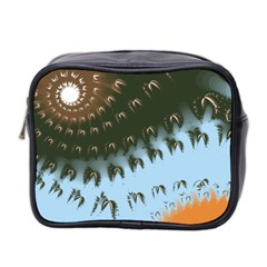 Sun-Ray Swirl Design Mini Toiletries Bag 2-Side