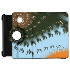 Sun-Ray Swirl Design Kindle Fire HD Flip 360 Case